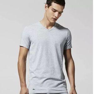 LACOSTE Supima® Cotton V-Neck T-Shirt